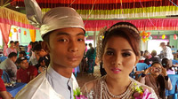 © Dr. Charles E. Ritterband, Wien / Burma - Hochzeitspaar / Zum Vergrößern auf das Bild klicken