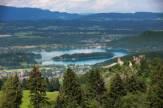 Faaker See in Kärnten, Österreich / Zum Vergrößern auf das Bild klicken