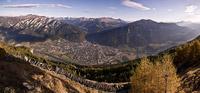 � Chur Tourismus / Chur vom Calanda im Herbst, Schweiz