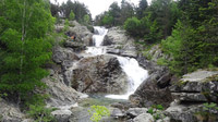© Edith Spitzer, Wien / Vall de Boi, Spanien - Nationalpark_Wasserfall / Zum Vergrößern auf das Bild klicken
