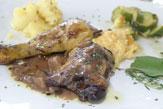 Huhn in Picolit nero / Zum Vergrößern auf das Bild klicken