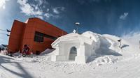 © Gasteinertal Tourismus / Art on Snow - Schneekapelle Stubnerkogel / Zum Vergrößern auf das Bild klicken