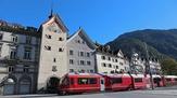 © Chur Tourismus / Arosabahn vor Obertor Chur