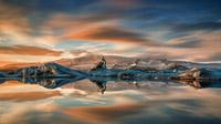 © Guide to Iceland / Iurie Belegurschi / Island, Gletscherlagune Jökursárlón / Zum Vergrößern auf das Bild klicken