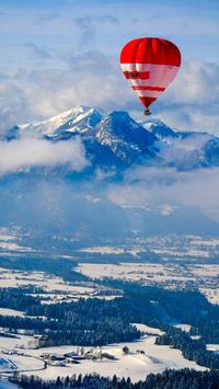 © Flora Jädicke, Regensburg / Kössen, Tirol - Ballon_Alpen / Zum Vergrößern auf das Bild klicken