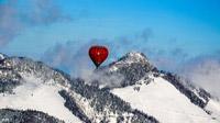 © Flora Jädicke, Regensburg / Kössen, Tirol - Ballon Berge / Zum Vergrößern auf das Bild klicken