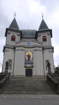 © 55PLUS Medien GmbH, Wien / Edith Spitzer / Bistritz, CZ - Wallfahrtskirche Hostein / Zum Vergrößern auf das Bild klicken