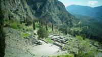 © Dr. Charles E. Ritterband / Delphi, Griechenland - Antikes Theater / Zum Vergrößern auf das Bild klicken