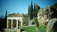© Dr. Charles E. Ritterband / Delphi, Griechenland - Schatzhaus der Athene / Zum Vergrößern auf das Bild klicken