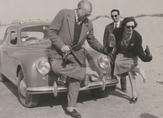 © Antonio D`Olivo / Ernest Hemingway am Strand von Lignano / Zum Vergrößern auf das Bild klicken