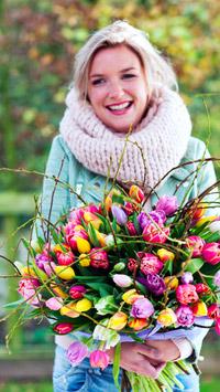 © tollwasblumenmachen.de / Niederlande - Tulpenstrauss / Zum Vergrößern auf das Bild klicken