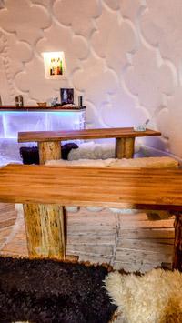 © Flora Jädicke, Regensburg / Hotelbar Restaurant, Zugspitze / Zum Vergrößern auf das Bild klicken