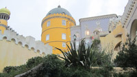 © Edith Köchl, Wien / Sintra, Portugal - Fassade Pena-Palast / Zum Vergrößern auf das Bild klicken