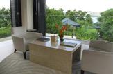 © 55PLUS Medien GmbH, Wien / Hotel Raffles, Seychellen - Spa-Bereich / Zum Vergrößern auf das Bild klicken