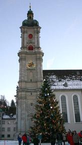 © 55PLUS Medien GmbH, Wien / St. Gallen - Kathedrale / Zum Vergrößern auf das Bild klicken
