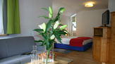 © 55PLUS Medien GmbH, Wien / ImpulsHotel Tirol, Bad Hofgastein - Apartment / Zum Vergrößern auf das Bild klicken