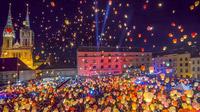© Kroatische Zentrale für Tourismus / Zagreb, Kroatien - Ban Josip Jelačić Platz / Zum Vergrößern auf das Bild klicken