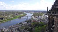 © Edith Spitzer, Wien / Magdeburg, Deutschland - Blick von Kathedrale auf Elbe / Zum Vergrößern auf das Bild klicken