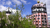 © Edith Spitzer, Wien / Magdeburg, Deutschland - Grüne Zitadelle_Turm / Zum Vergrößern auf das Bild klicken