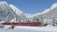© Rhätische Bahn / Oberengadin, Schweiz / Zum Vergrößern auf das Bild klicken
