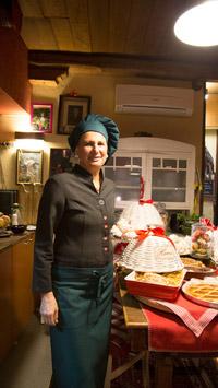 © Anita Arneitz, Klagenfurt / Osteria de Baccala in Stra, Italien - Chefin Linda / Zum Vergrößern auf das Bild klicken