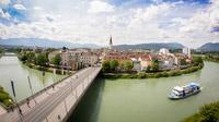 © Region Villach Tourismus - LIK Fotoakademie / Stefan Ebersberger / Villach, Kärnten - Draubrücke und Altstadt / Zum Vergrößern auf das Bild klicken