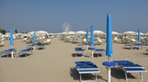 © 55PLUS Medien GmbH, Wien / Rimini, Italien - Strand / Zum Vergrößern auf das Bild klicken