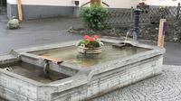 © Edith Spitzer, Wien / Scuol, Schweiz - Brunnen / Zum Vergrößern auf das Bild klicken