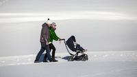 © Andreas Kirschner / Serfaus -Fiss -Ladis - Spaziergang im Schnee / Zum Vergrößern auf das Bild klicken