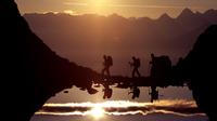 © www.lightwalk.de / Serfaus-Fiss-Ladis, Tirol - Wanderung mit Sonnenuntergang / Zum Vergrößern auf das Bild klicken