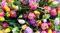 © tollwasblumenmachen.de / Tulpenstrauss / Zum Vergrößern auf das Bild klicken