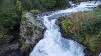 © Anita Arneitz, Klagenfurt / Geiranger in Norwegen - Wasserfallweg / Zum Vergrößern auf das Bild klicken