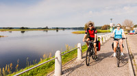 © Fotoarchiv Tourismusverband Prignitz / Markus Tiemann / Wittenberge, DE - Radler / Zum Vergrößern auf das Bild klicken