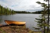 Abborrträsk, Schweden - See / Zum Vergrößern auf das Bild klicken