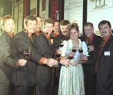 Burgundermacher-Gruppenfoto / Zum Vergrößern auf das Bild klicken