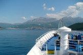 MS Dalmacija 2008: Anfahrt auf Kotor, Montenegro / Zum Vergrößern auf das Bild klicken