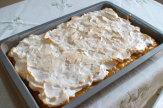 Apfelschnitte mit Schaumhaube (in Kuchenform) / Zum Vergrößern auf das Bild klicken