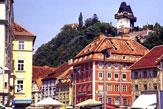 Radwandern in Graz / Zum Vergrößern auf das Bild klicken