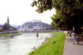Radwandern in Salzburg / Zum Vergrößern auf das Bild klicken