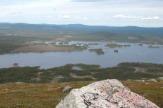 Arvidsjaur, Schweden - Ausblick von Galtispouda / Zum Vergrößern auf das Bild klicken