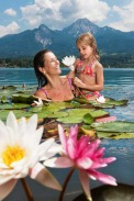 Faaker See - Region Villach / Zum Vergrößern auf das Bild klicken