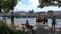 55PLUS Medien GmbH / Basel - Blick über Rhein auf die Altstadt
