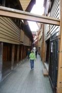 Bryggen in Bergen, Norewgen / Zum Vergrößern auf das Bild klicken
