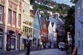 In Bergen, Norwegen / Zum Vergrößern auf das Bild klicken