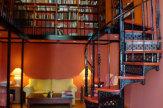 Hotel Schloss Ziethen, Kremmern - Bibliothek / Zum Vergrößern auf das Bild klicken