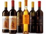 Weinauswahl Tenuta di Blasig / Zum Vergrößern auf das Bild klicken