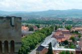 Bojnice, Slowakei - Blick von Burg / Zum Vergrößern auf das Bild klicken