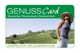 Cover GenussCard