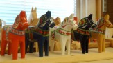 Schweden - Dala-Pferdchen / Zum Vergrößern auf das Bild klicken