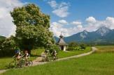 Radfahren rund um den Faaker See / Zum Vergrößern auf das Bild klicken